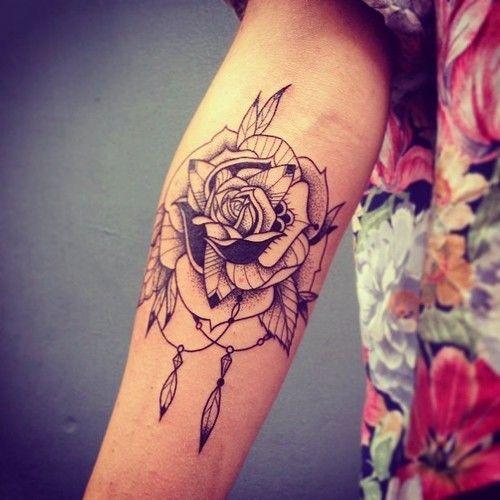 45+ Flowers Wrist Tattoos | 500 x 500 jpeg 41kB