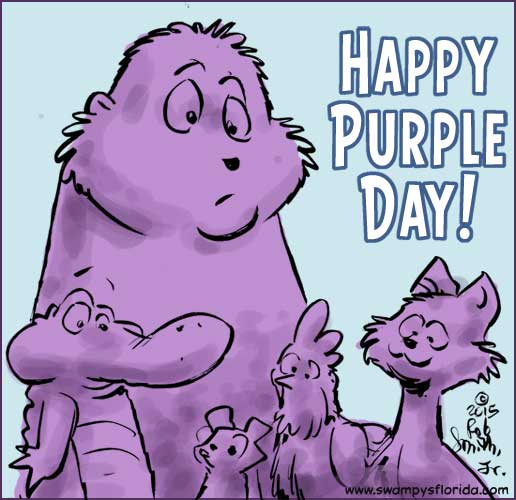 Happy Purple Day Wishes