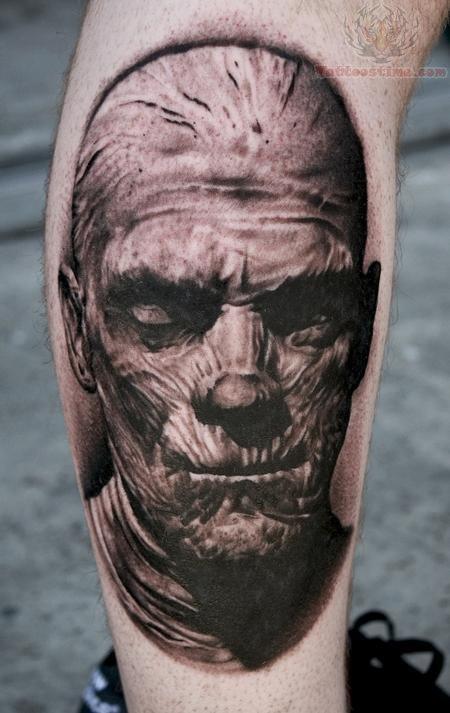 65 Scary Mummy Tattoos