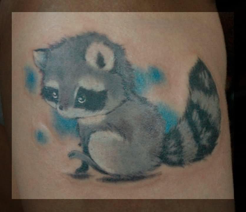27bf8ceee Raccoon Tattoo Idea by Dimed Roll