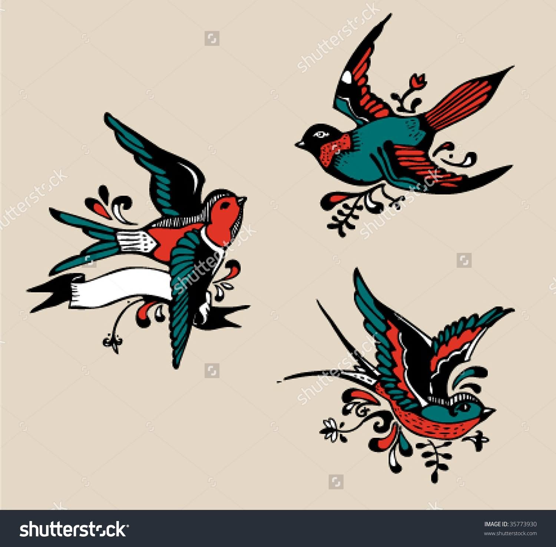 38+ Unique Birds Tattoos Designs Dandelion Bird Tattoo On Side