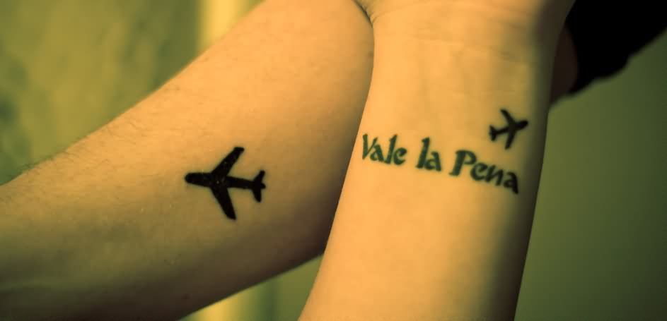 12 Surprisingly Well Done Airplane Tattoos