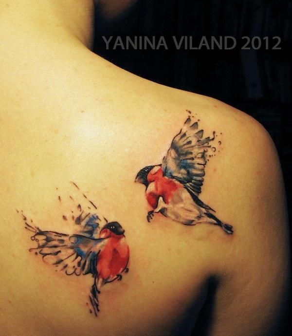 65 Cute Birds Tattoos Ideas