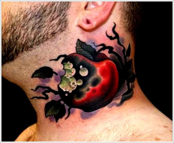 100 cool apple tattoos