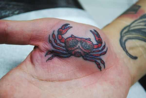 35 nice cancer crab tattoos