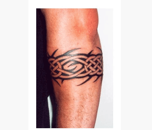 40 best armband tattoos for Celtic ring tattoos