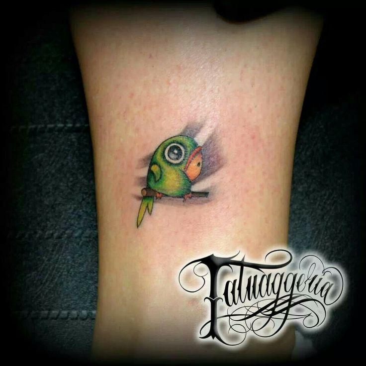 Parrot Tattoo Designs