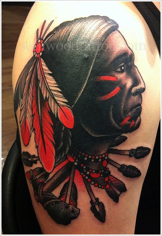Native American tattoo designs have always been popular for their deep meanings and claim of protection against evils as seen in some of these designs
