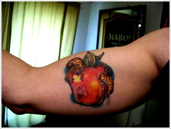 Rotten Tattoo: 100+ Cool Apple Tattoos