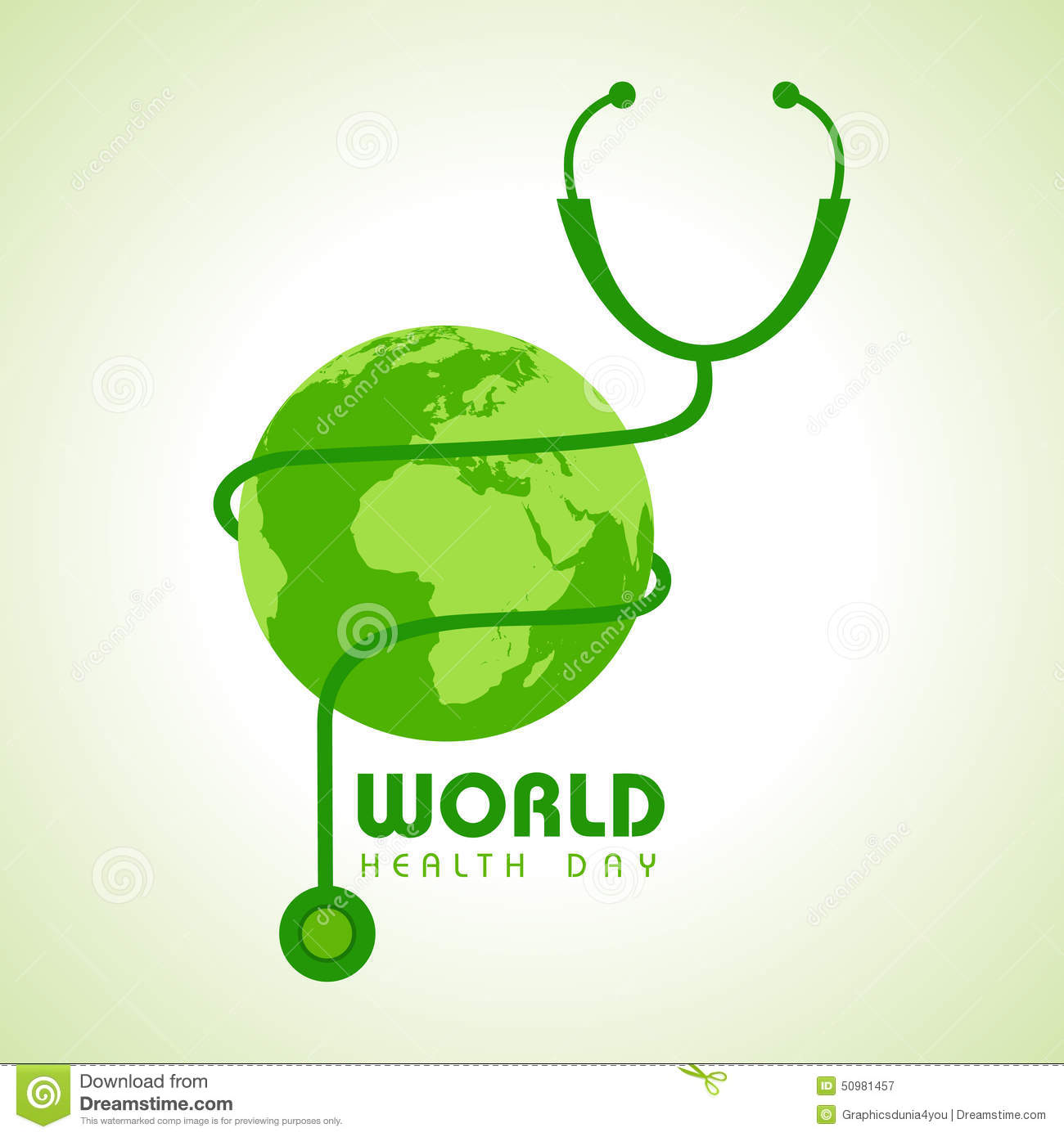 World Health Day Green Picture