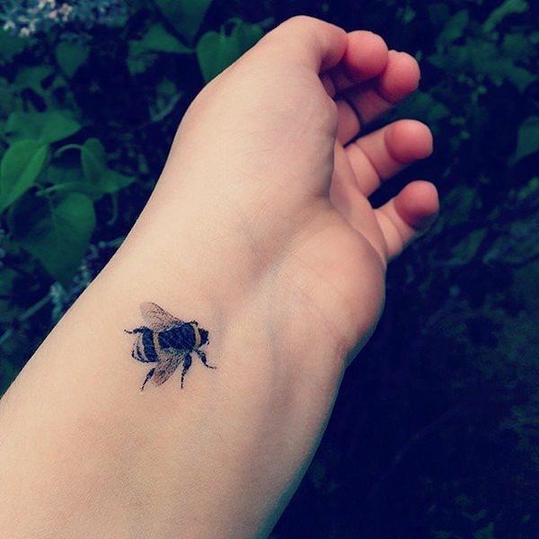 Bee Tattoos Askideas Com
