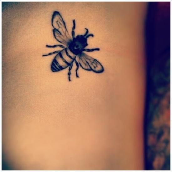 85 Beautiful Bee Tattoos Ideas