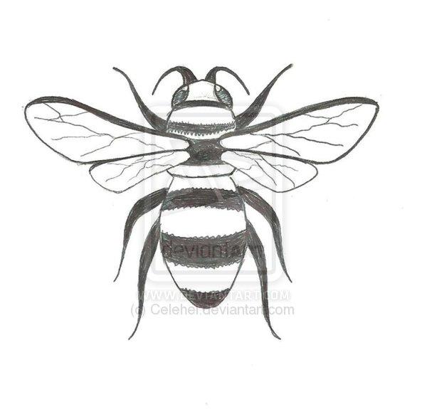25+ Cute Bee Tattoo De...