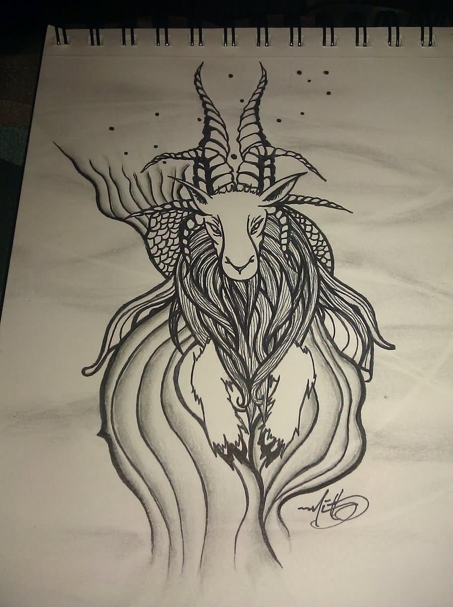 50+ Best Capricorn Tattoo Designs