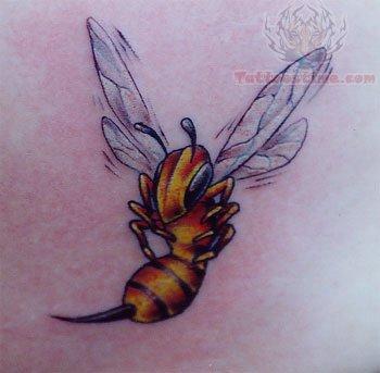 9 Beautiful Bee Tattoo Designs Styles At Life