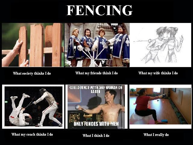 Fencing Quotes Mesmerizing 30 Most Funny Fencing Pictures And Photos