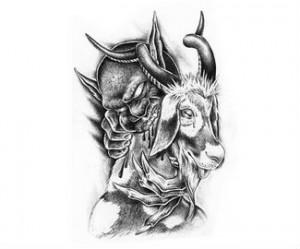 40 Goat Capricorn Tattoos