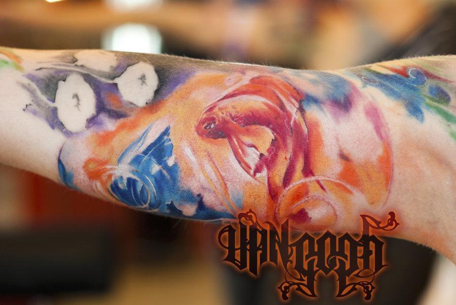 Aqua Dip Dye Pictures To Pin On Pinterest Tattooskid