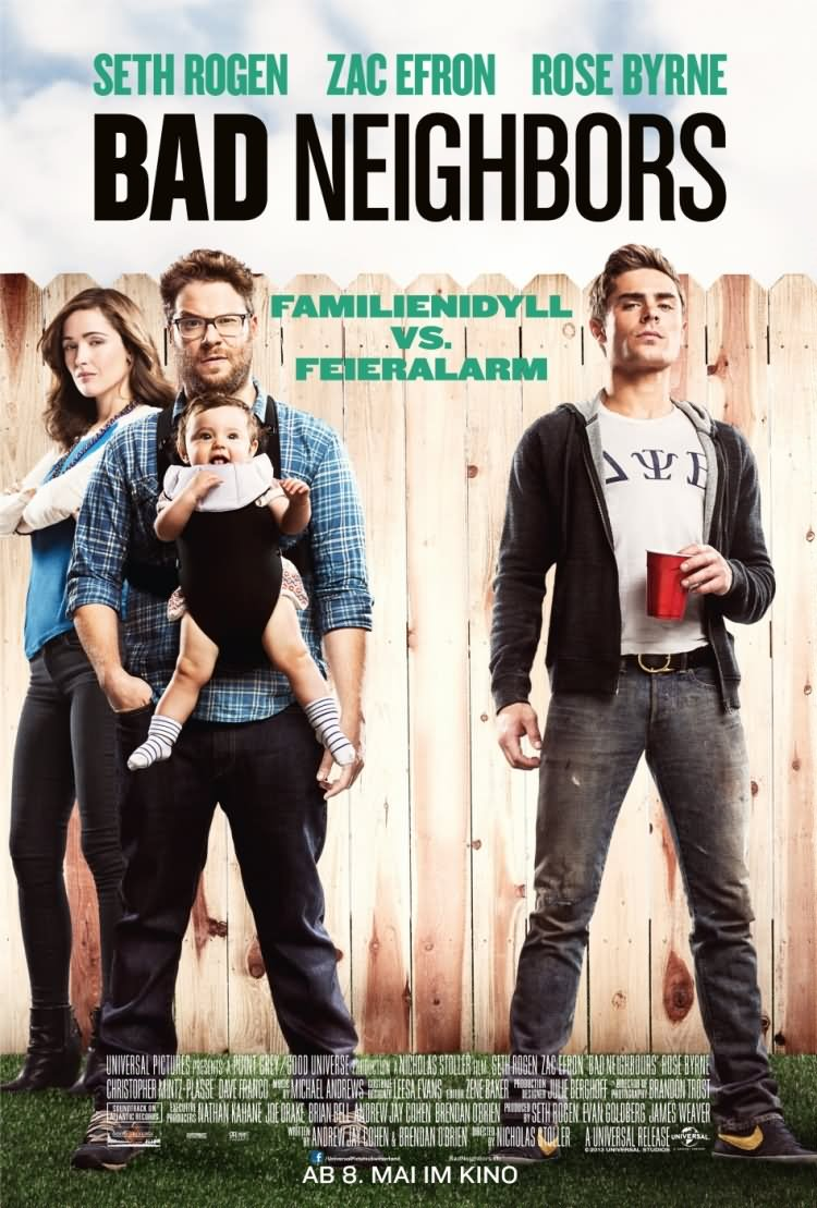 movie poster funny bad neighbors movies funniest most