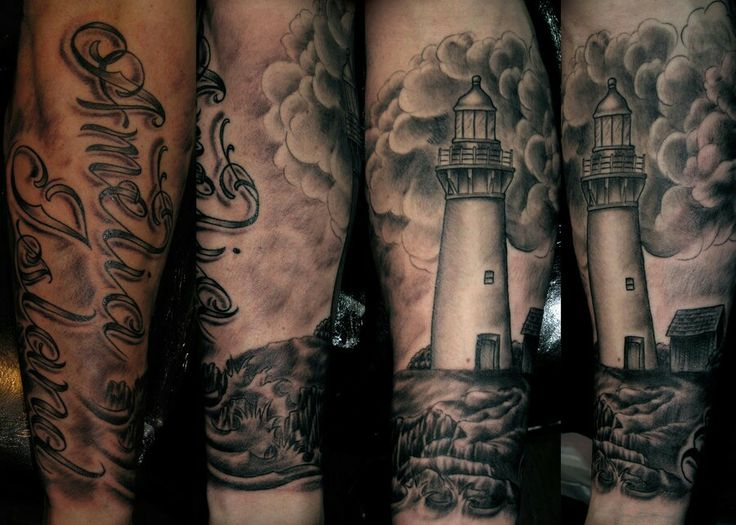 lighthouse tattoos. Black Bedroom Furniture Sets. Home Design Ideas