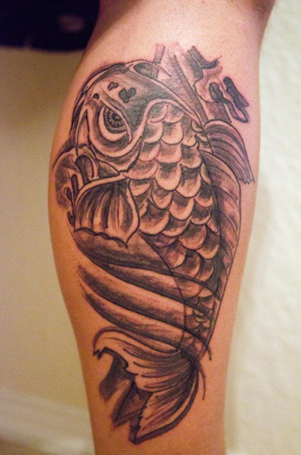 50+ Best Carp Fish Tattoos