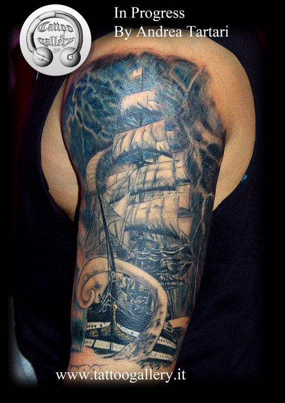 40+ Best Kraken Tattoos