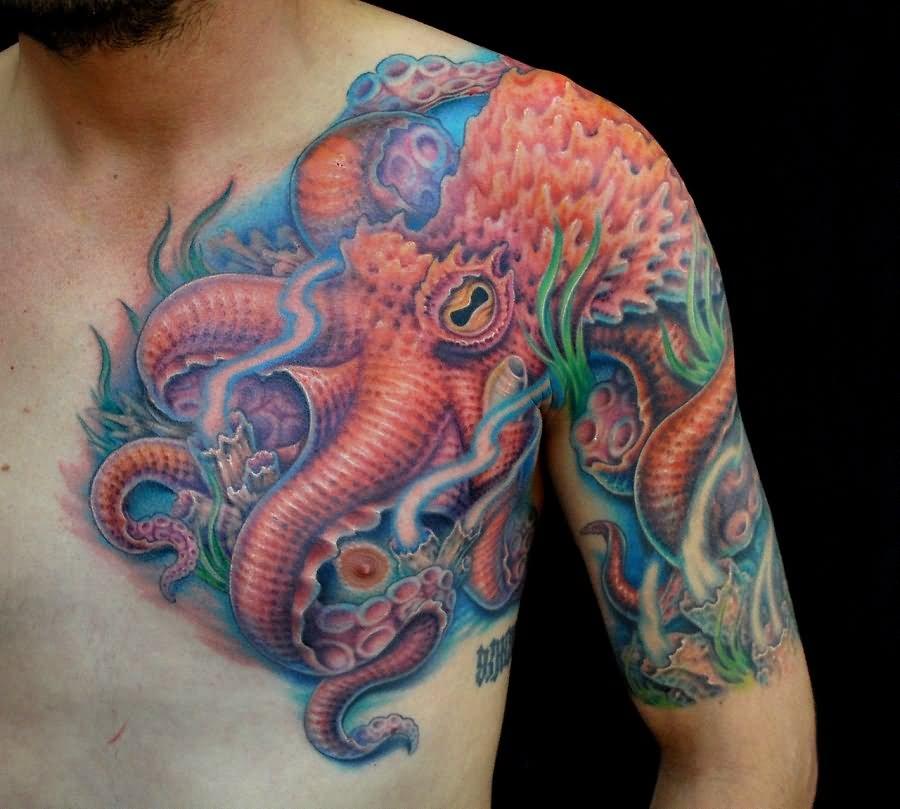 Cool Kraken Tattoo On ...