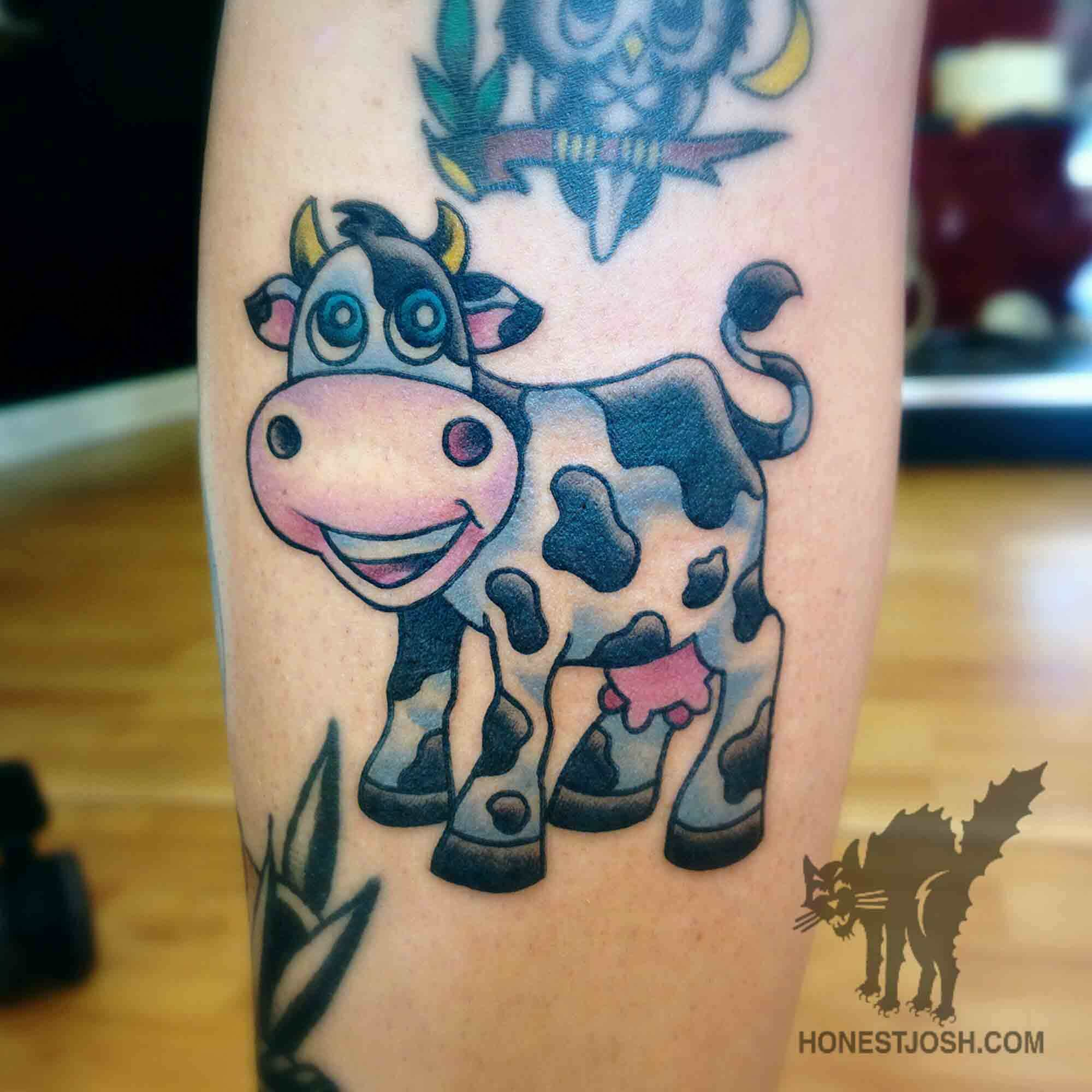 50 Mind Blowing Cow Tattoos