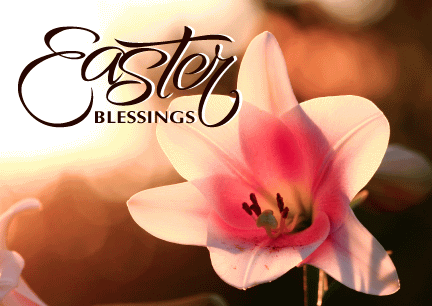 Easter Blessings Flower Picture