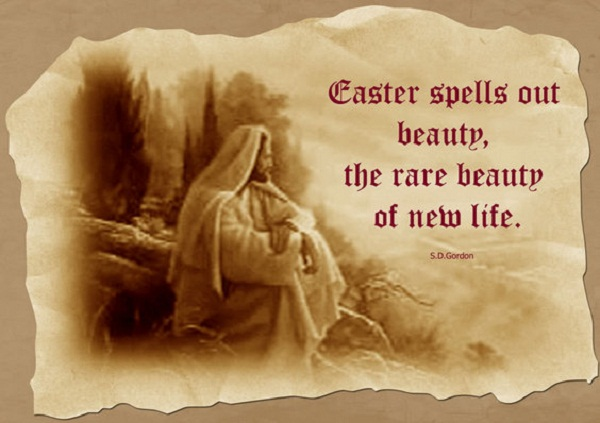 Easter Spells Out Beauty, The Rare Beauty Of New Life Happy Easter