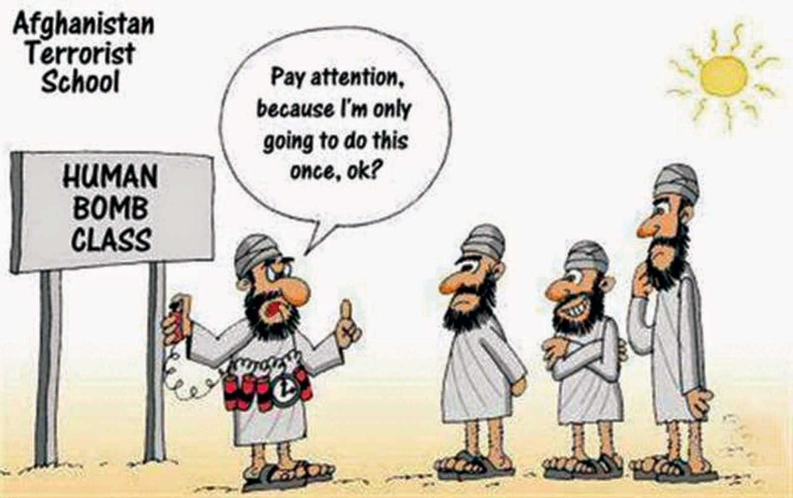 funny terrorist cartoons - photo #2