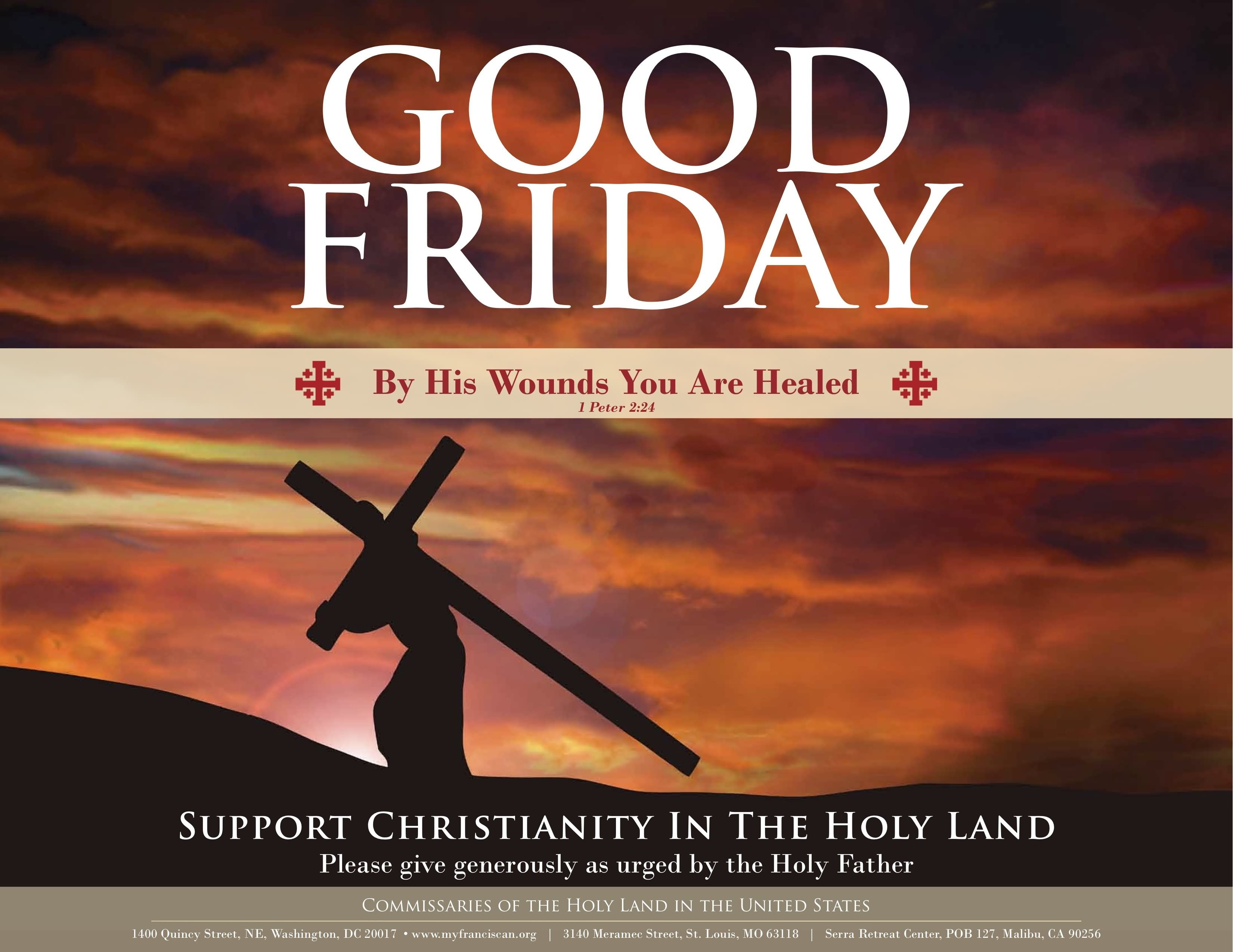 Good Friday By His Wounds Are You Healed