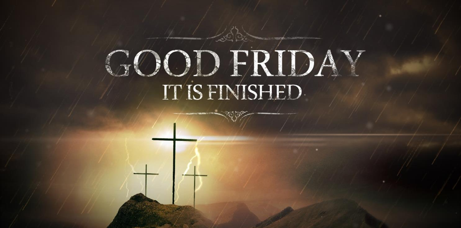 it is finished By deborah ann belka it is finished words of agony from his lips it is finished no greater love will again eclipse it is finished these words jesus once said.