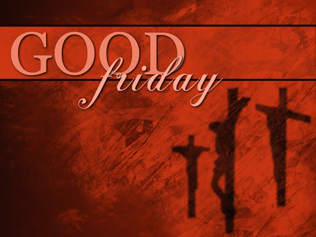 Good Friday Red Background Picture