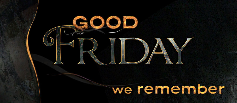 Good Friday We Remember Facebook Cover Image
