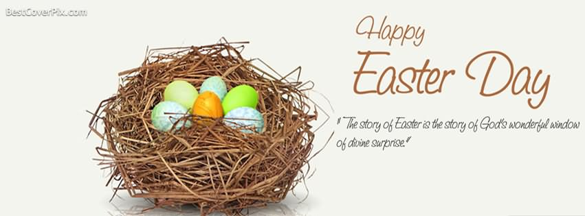 Happy Easter Day Facebook Cover Picture