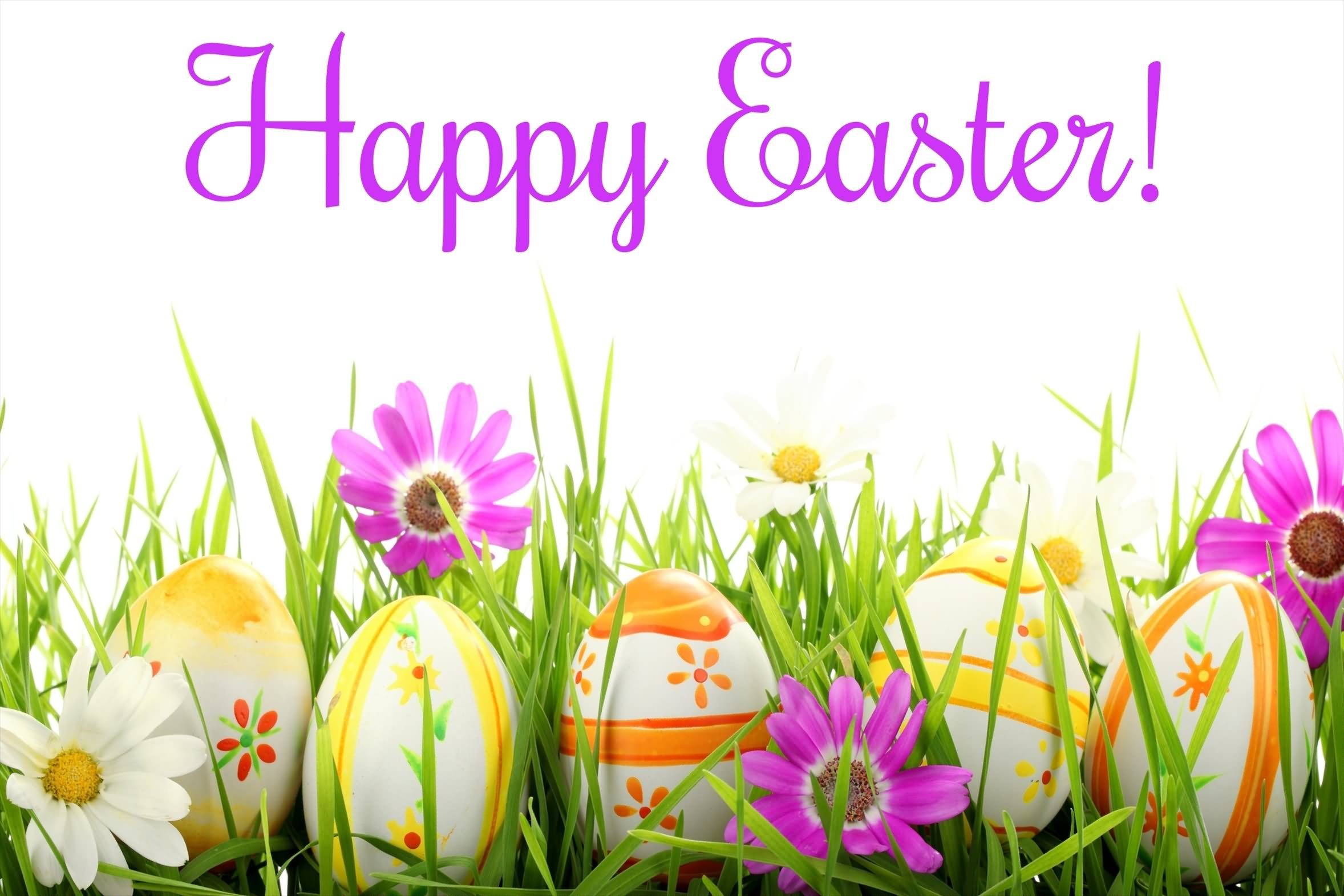 Happy easter greetings card m4hsunfo