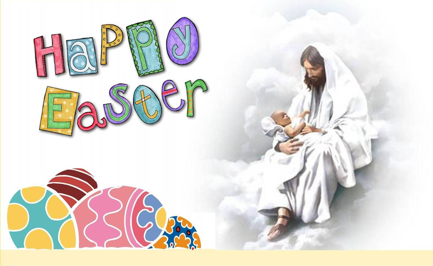50 Very Beautiful Easter Wish Pictures And Photos Easter Eggs Jesus