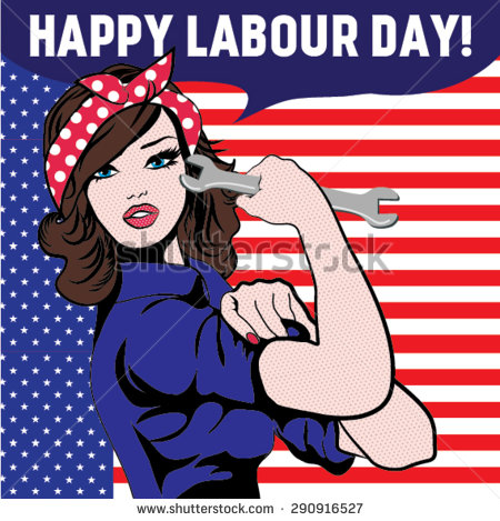 Happy Labour Day American Girl