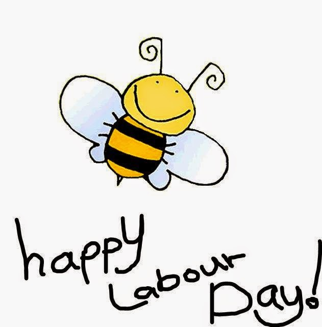 Happy Labour Day Bee Insect Picture