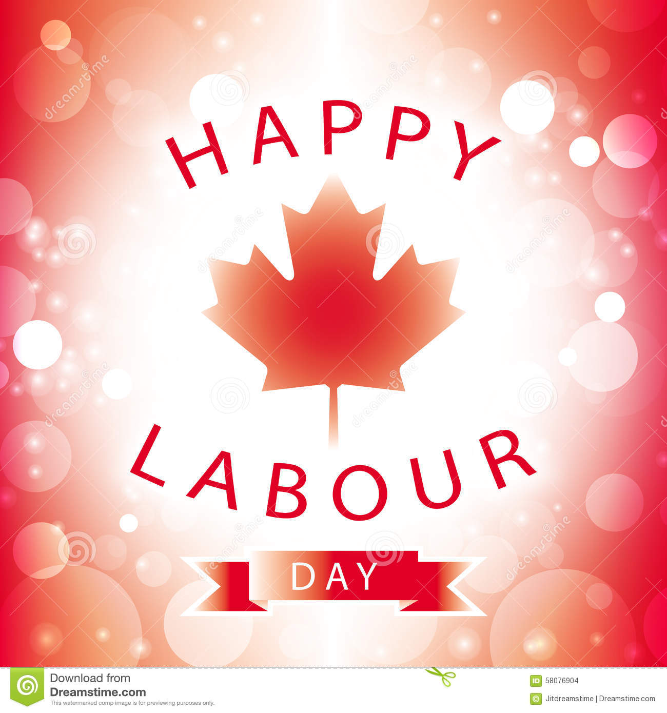 Happy Labour Day Canada Wishes Picture