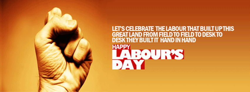 Happy Labour Day Facebook Cover Picture