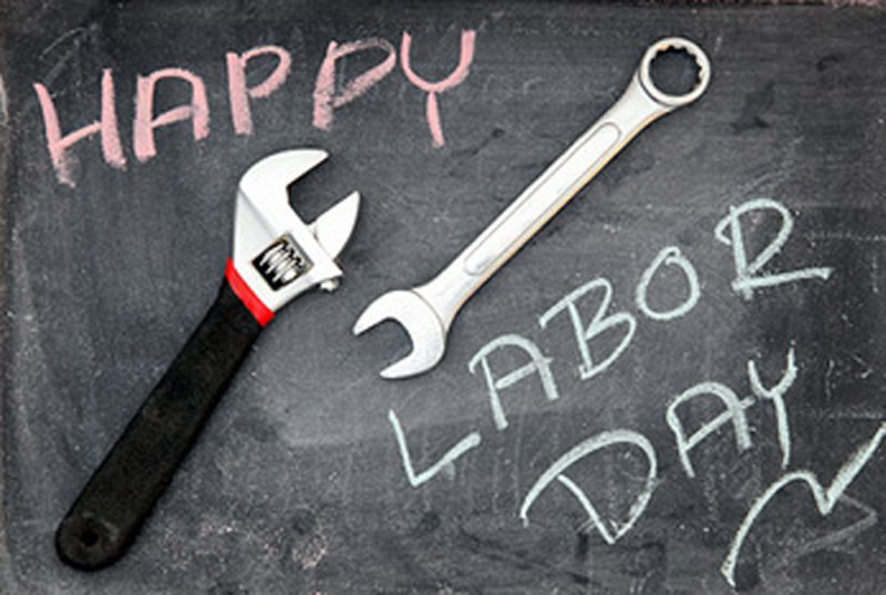 Happy Labour Day Tools Picture
