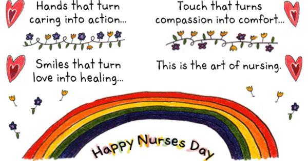 Happy nurses day wishes m4hsunfo