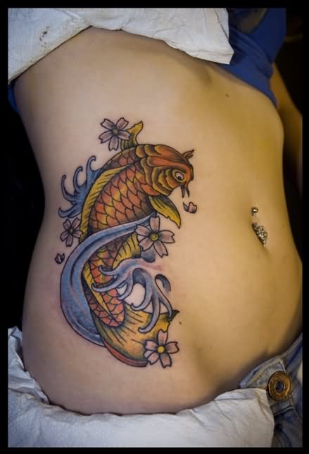 100 beautiful belly tattoos for Tattoos on side of stomach