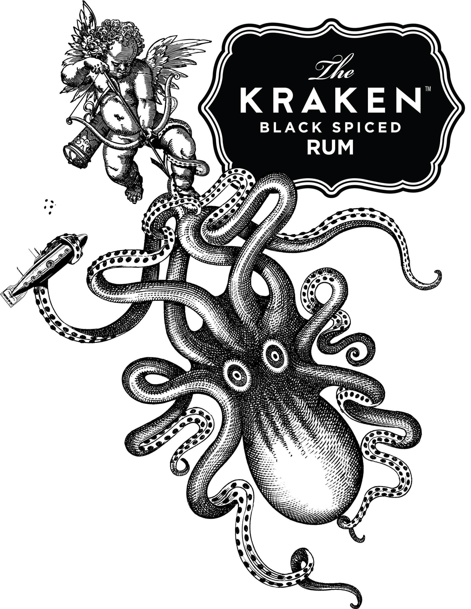 15 latest kraken tattoo designs for Tattoo style logo design