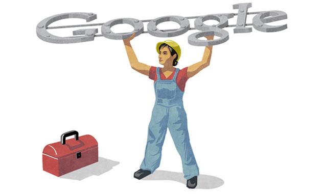 Labour Day Google Doodle