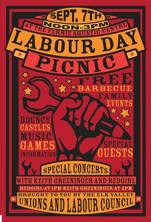 Labour Day Picnic Poster