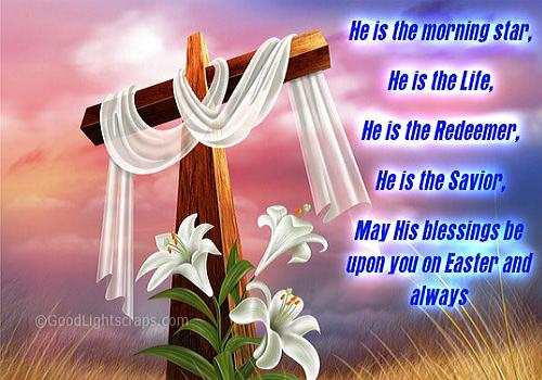 May His Blessings Be Upon You On Easter And Always