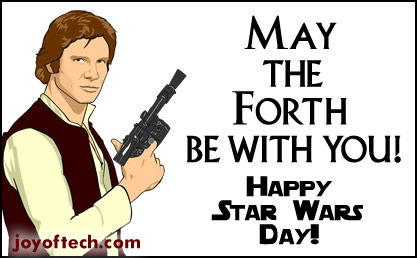 May The Forth Be With You Happy Star Wars Day may the forth be with you happy star wars day